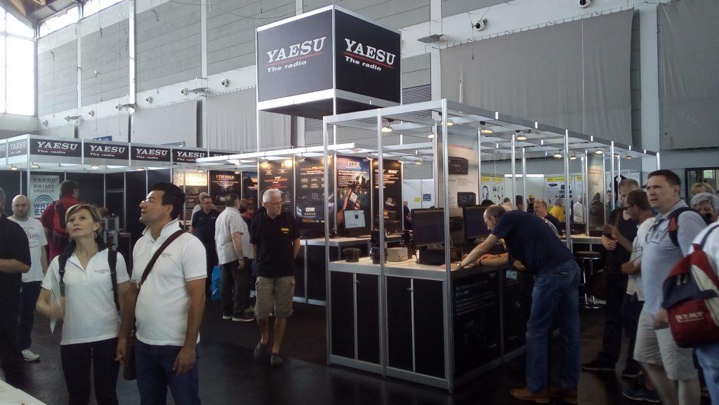 Le stand Yaesu