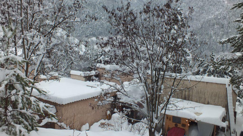 Le QRA sous la neige