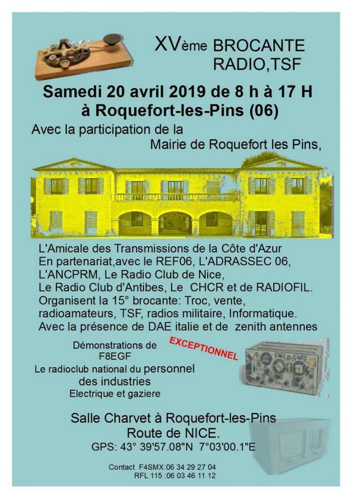 15 ème brocantes RADIO & COMMUNICATION Roquefort-les-Pins (06