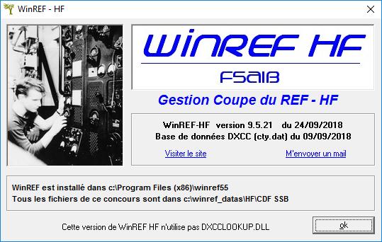 WinREF HF V9.5.21