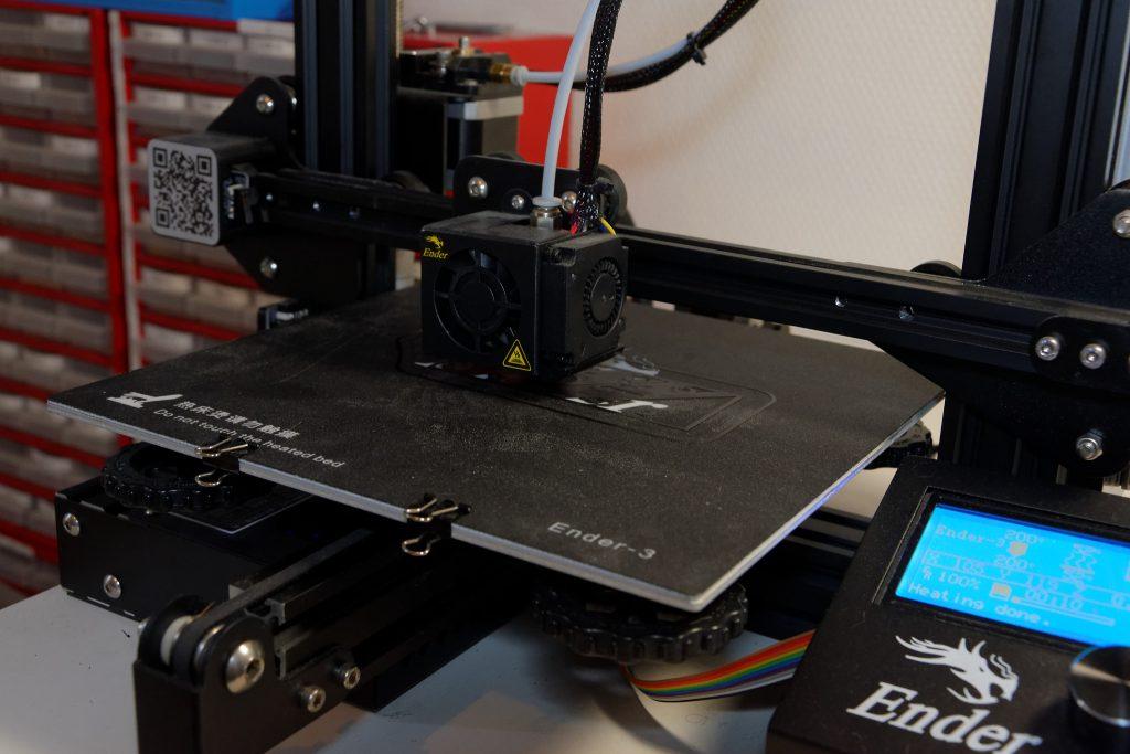 L'impression 3D avec l'imprimante Ender-3