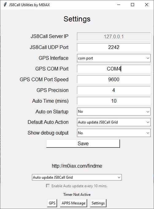 Renseigner le port ou se trouve le GNSS ou utilisez GPSD
