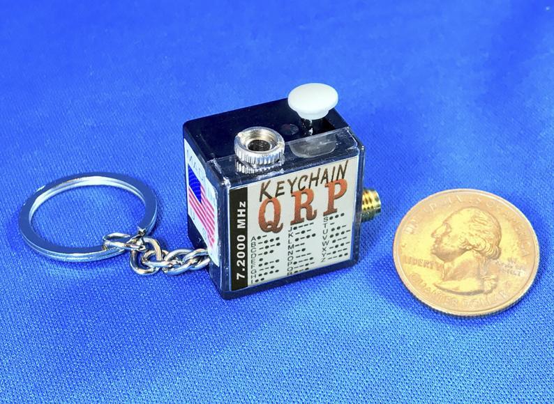 KeychainQRP - Le plus petit émetteur Ham Radio HF du monde