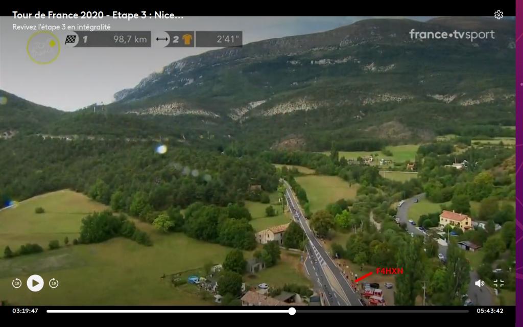 Tour de France 2020, je suis la ! (31 août 2020 - Peyroules 04)
