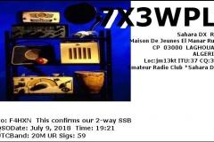 7X3WPL_20180709_1921_20M_SSB