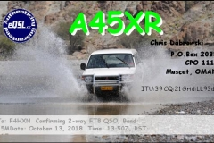 A45XR_20181013_1350_15M_FT8