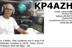 KP4AZH_20181005_1334_20M_FT8