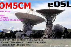 OM5CM_20181121_1502_40M_FT8